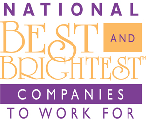 NATIONAL 2015 BEST AND BRIGHTEST COMPANIES TO WORK FOR